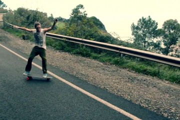 On The road at the Basque Country
