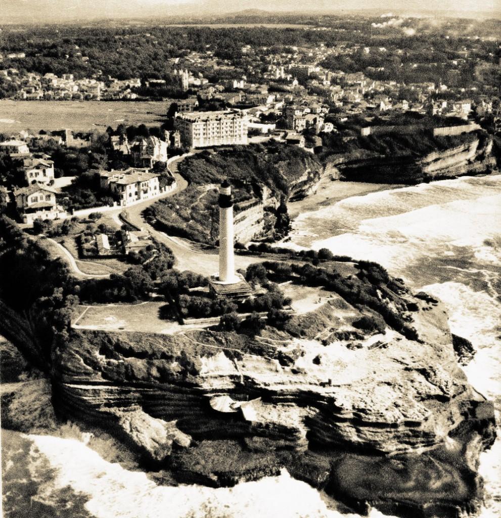 8 images fascinantes de la c te basque il y a 50 ans - Phare de biarritz ...