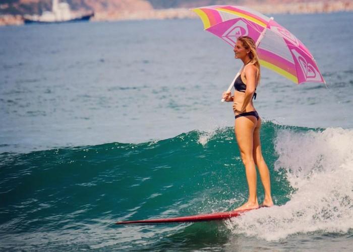 pluie surf