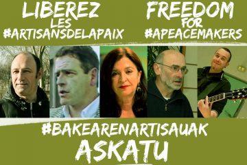 Libérez les faiseurs de paix arrêtés