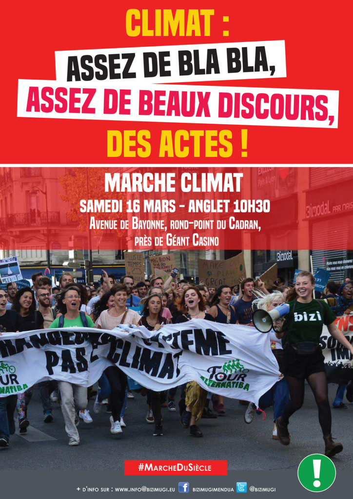 Marche climat ANGLET