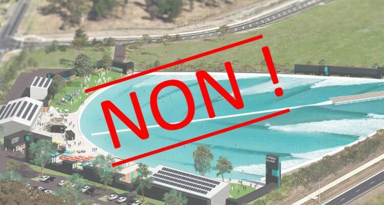 Non au Surfpark de Castets