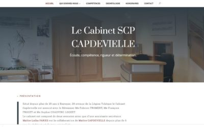 Le Cabinet SCP CAPDEVIELLE